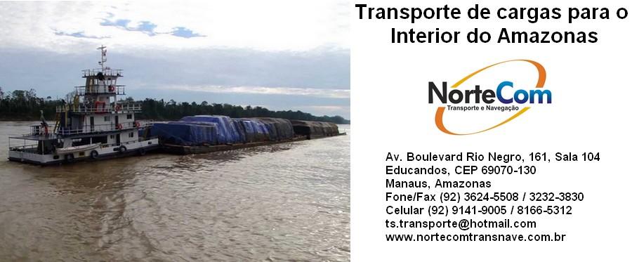 Read more about the article Transporte de cargas em balsas para os municípios do interior do Amazonas