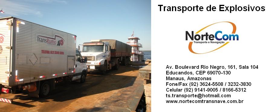 Read more about the article Transporte de Explosivos em Balsas