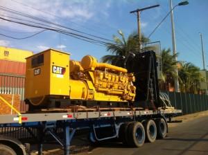 Movimentação de equipamento pesado em Manaus