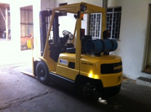 Equipamentos para movimentação de cargas – Empilhadeiras
