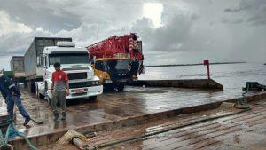 Travessia Manaus Belém – Transporte de veículos em balsa