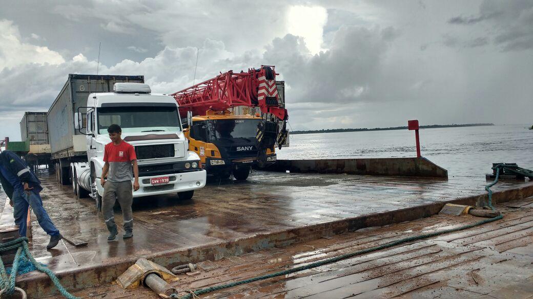 Read more about the article Travessia Manaus Belém – Transporte de veículos em balsa