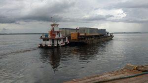 Travessia Manaus Porto Velho - transporte de veículos em balsas
