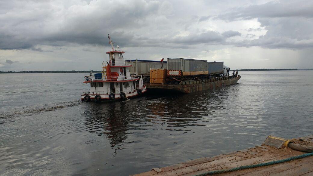 Read more about the article Travessia Manaus Porto Velho em balsa – Transporte de Veículos