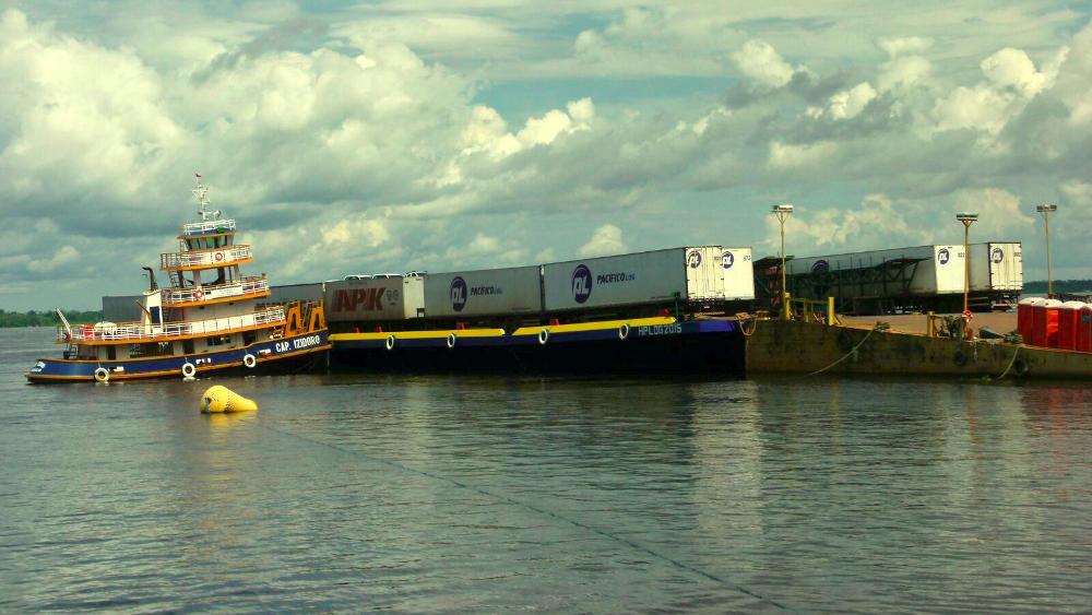 Transporte de cargas em Balsas Belém Manaus