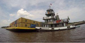 NorteCom Transporte e Navegação realiza o transporte de cargas e veículos na travessia Macapá Belém em balsas