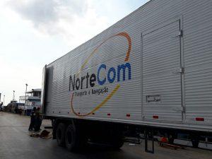 Movimentação de carga porta a porta em Manaus